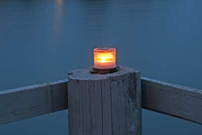 Solar Lighting - Marine solar light - available in 6 colors