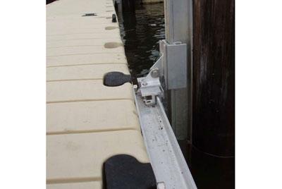 dock slide anchor