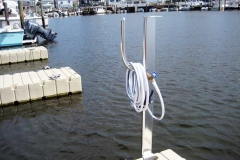 dock accessories - A water utility stand