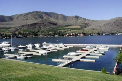Floating Dock Systems - EZ Docks configured for a large marina installation