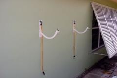 picture of kayak rack, wall mount version