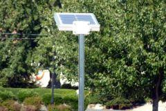 Overhead solar light