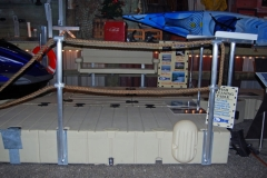 picture of rope railing stand