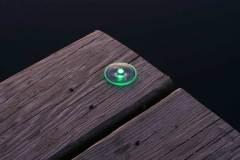 Solar dock dot light - small