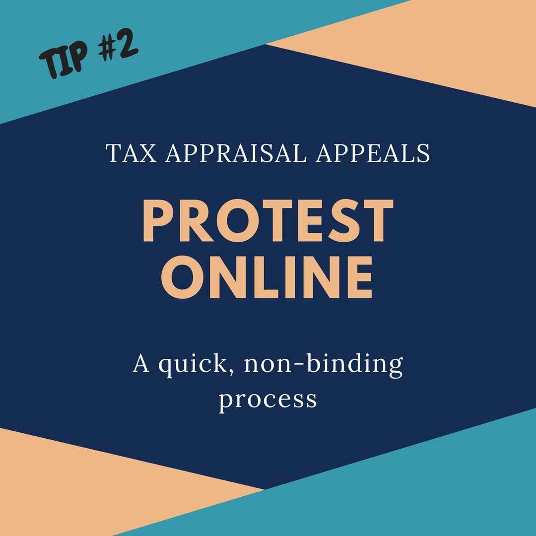Property Tax Protest – Online Protests