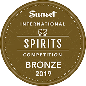 Sunset International Spirits Competition Bronze Award 2019