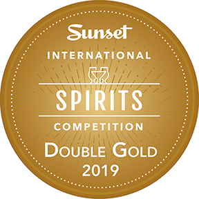 Sunset International Spirits Competition Double Gold Award 2019