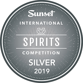 Sunset International Spirits Competition Silver Award 2019