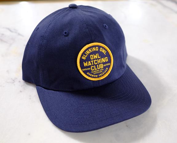 owl wathing club patch hat