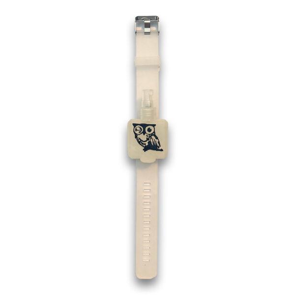 Hand sanitizer watch accessory