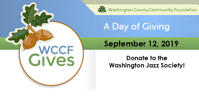WCCF Day of Giving September 12, Donate to the WJS and the WCCF will match funds!