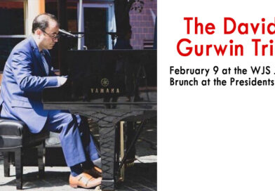 The David Gurwin Trio Feb 9 at the WJS Jazz Brunch