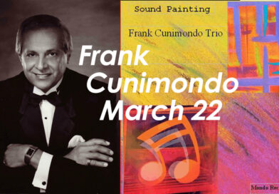 Frank Cunimondo at the WJS Jazz Brunch March 22