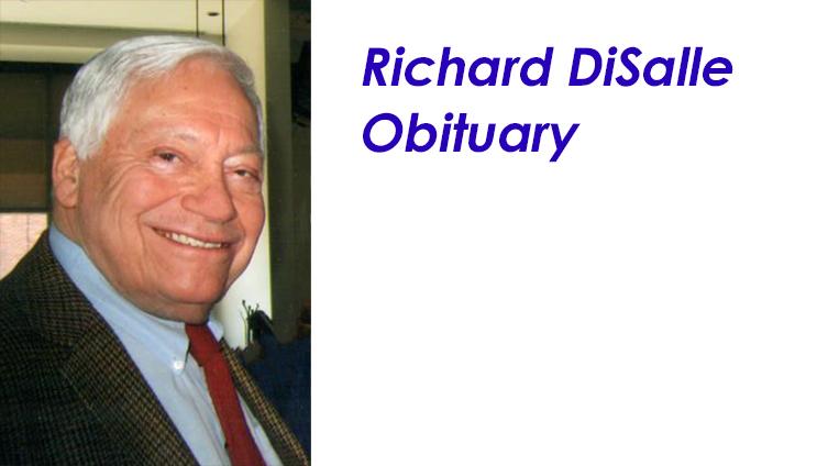Richard DiSalle, WJS Board Member, passes away at 93.