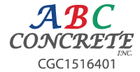 ABC Concrete, Inc. Logo