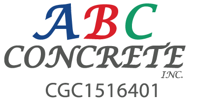 ABC Concrete, Inc. Retina Logo