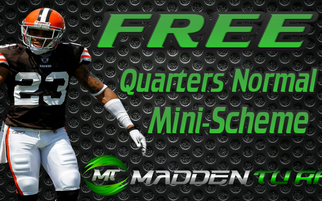 Madden 16 Quarters Normal Mini-Scheme