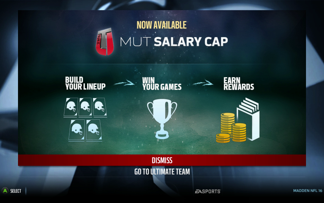 Salary Cap Pros and Cons| Madden 17