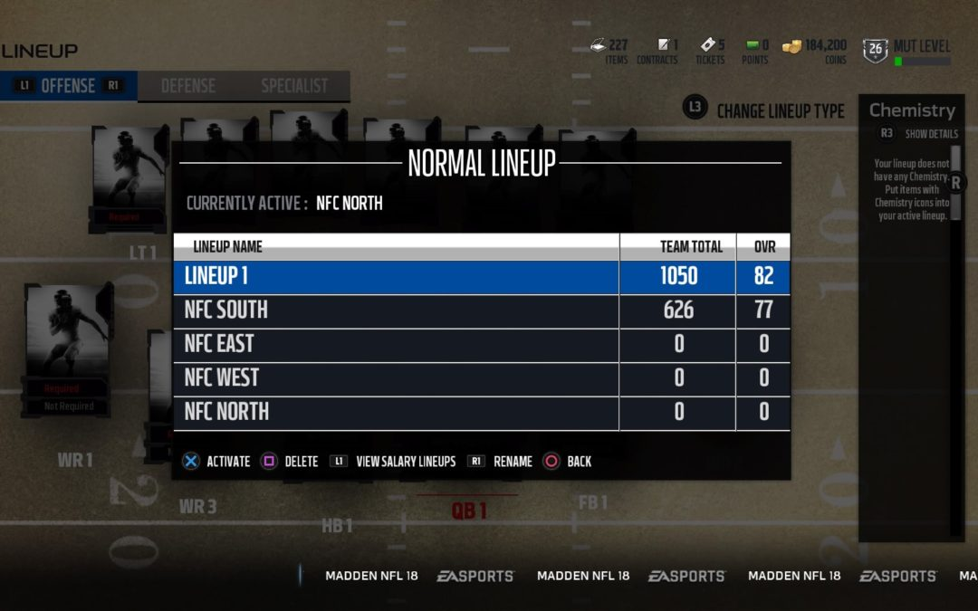 MUT 101: How to Use Lineups/Prep for Gauntlet Unleashed