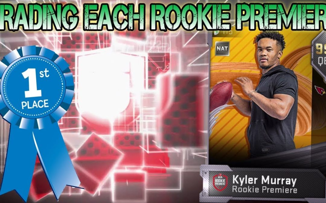 GRADING EACH ROOKIE PREMIERE FOR MADDEN 20 | WHO DO YOU PICK?