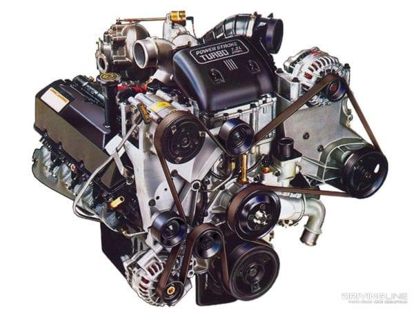 Power Stroke Engine >> 7 3 Powerstroke Diesel Engines