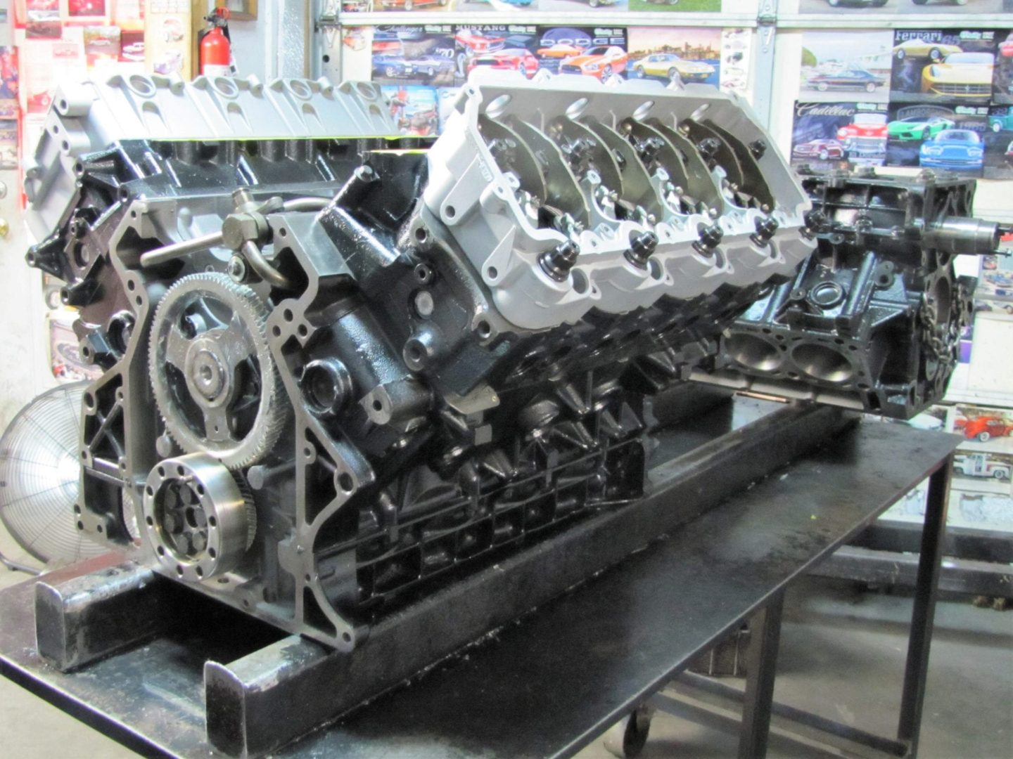 One of our Powerstroke 6.0 Remanufactured Diesel Engines