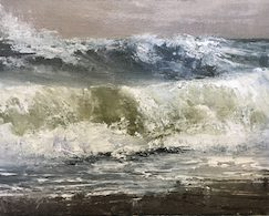 rough seas, 8x10 (at Bowersock Gallery)