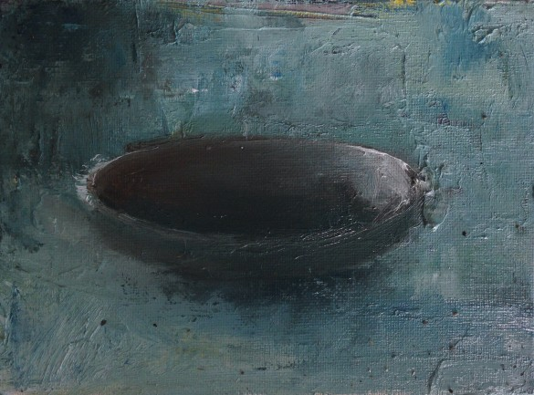"""6""""x8,"""" oil on panel SOLD"""