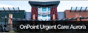 OnPoint Urgent Care Aurora, Banner