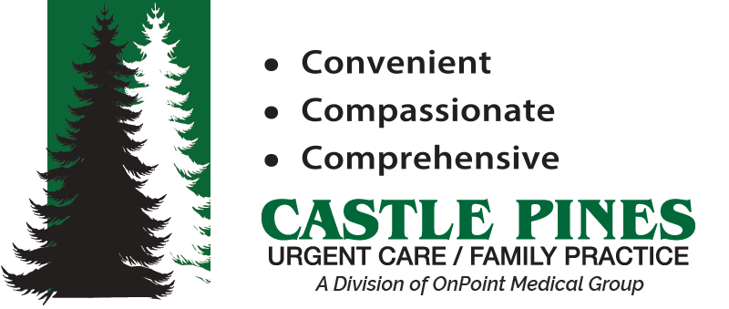 Castle Pines Family Practice & Urgent Care Logo A Division of OnPoint Medical Group