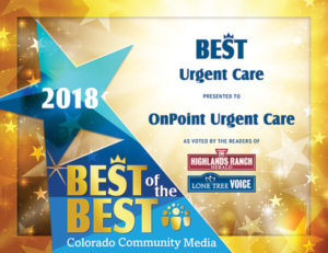 Winner: 2018 Best of the Best by Colorado Community Media