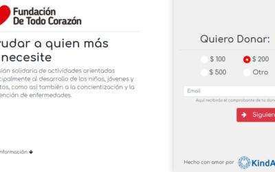 KindApp – Aplicación para donar