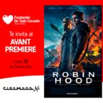 Canje solidario – película Robin Hood