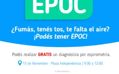 Día de la concientizacón del Epoc.