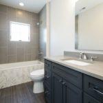 Bathroom Herringbone Tub Tile