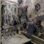 Powder Room Poppy Wallpaper