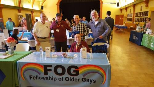 FOG booth at Senior Resource Fair 2019