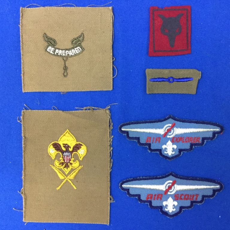 Vintage Scout Patches