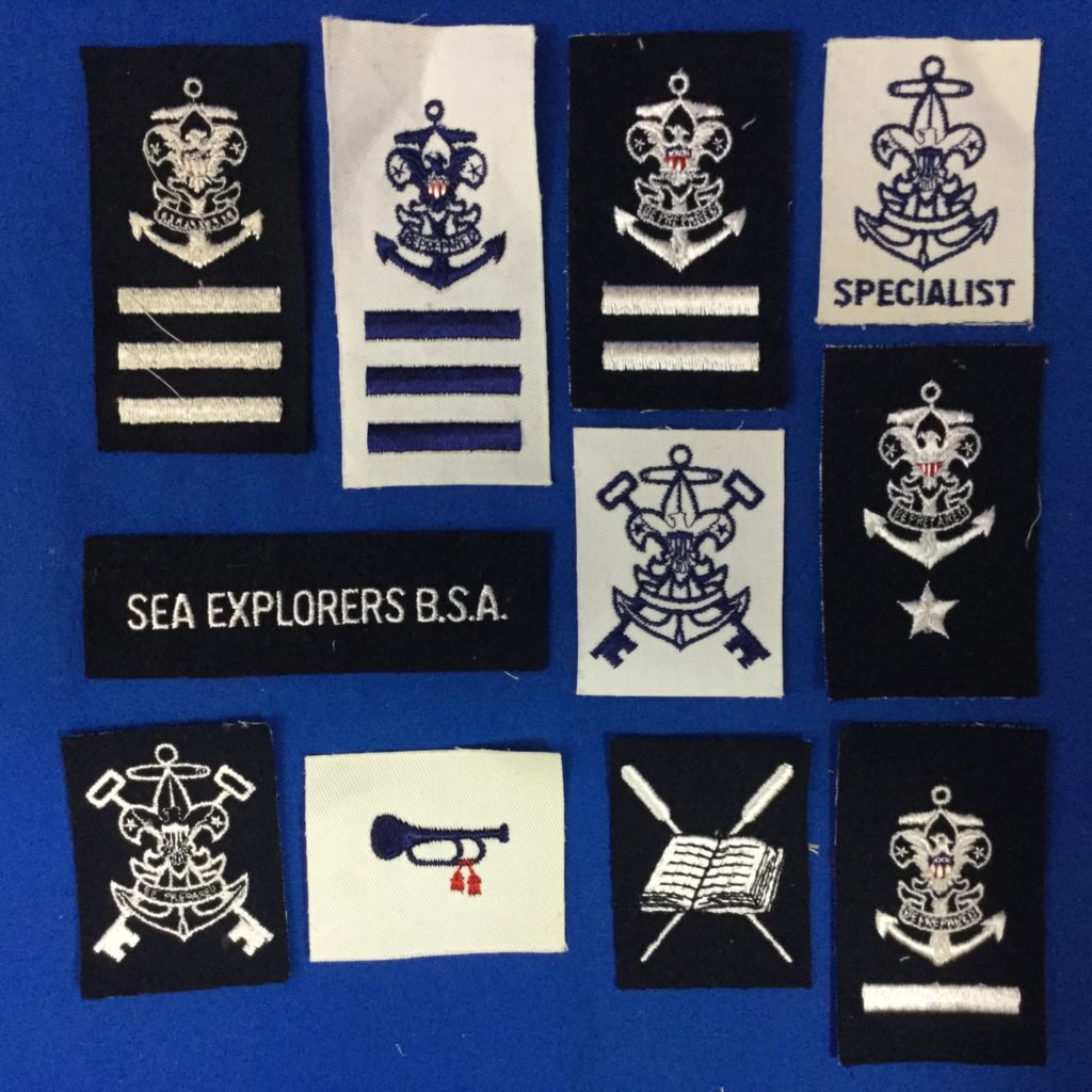 Sea Scout Patches