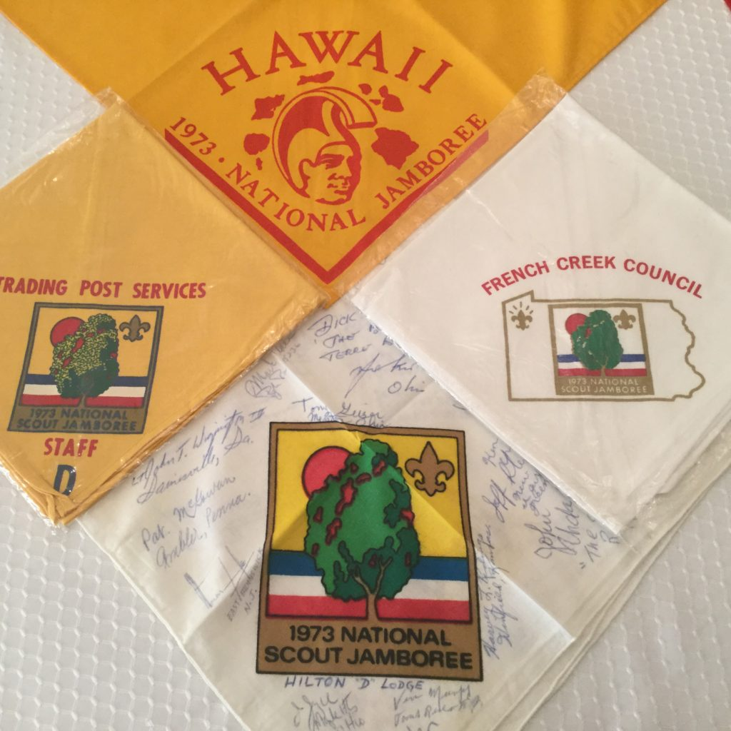 1973 National Jamboree Neckerchi