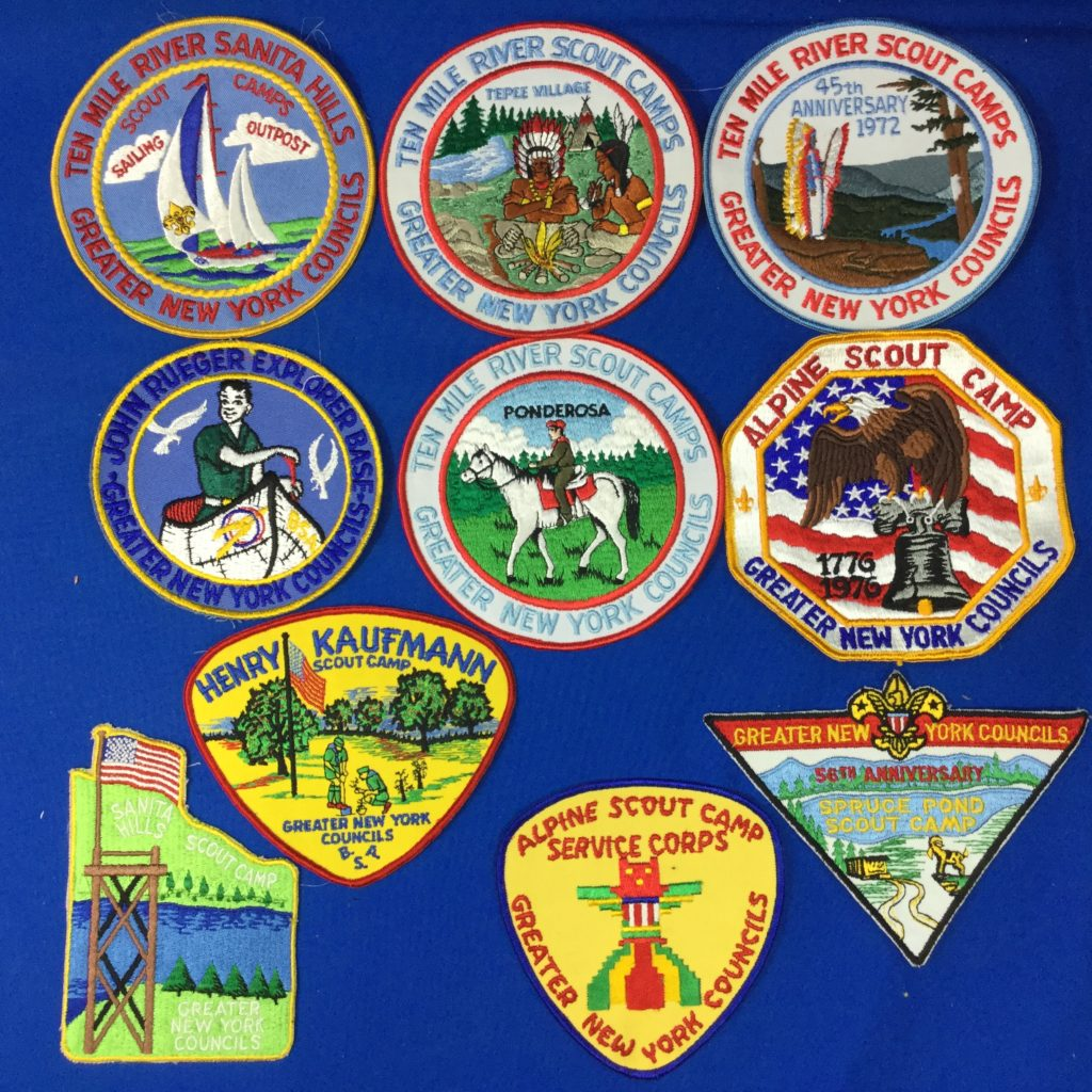 Greater NY Councils Camp Jacket Patches