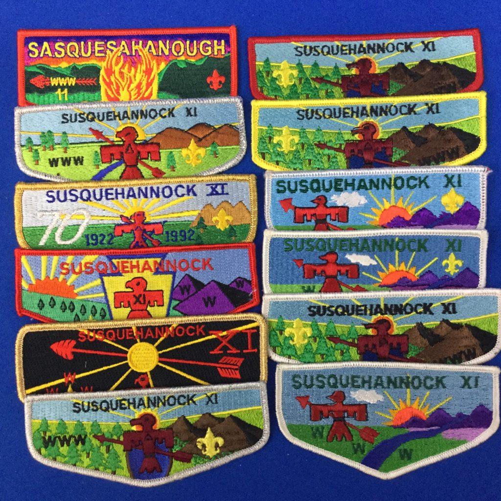 Sasquehannock Lodge XI 11 Flaps