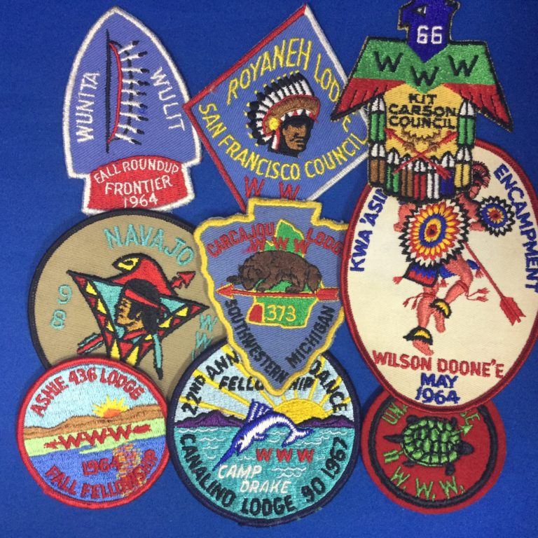 Order Of The Arrow Patches
