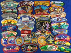 1980's Jamboree Patches