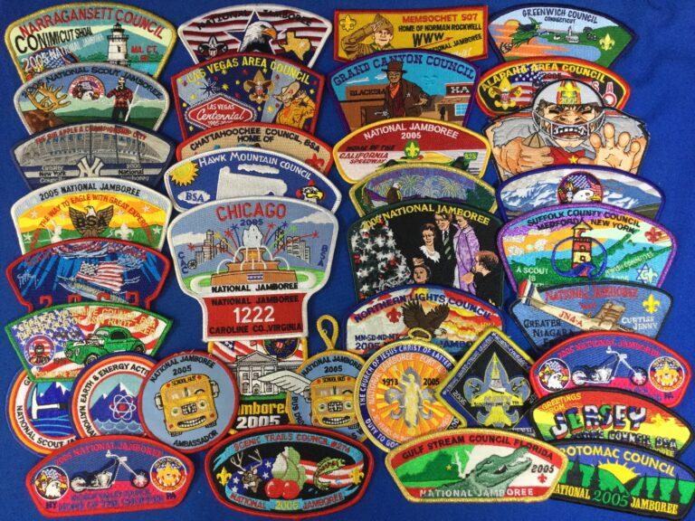 1980's Jamboree Patches
