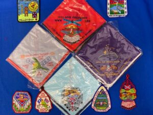 Dixie Fellowship OA Patches & Neckerchiefs