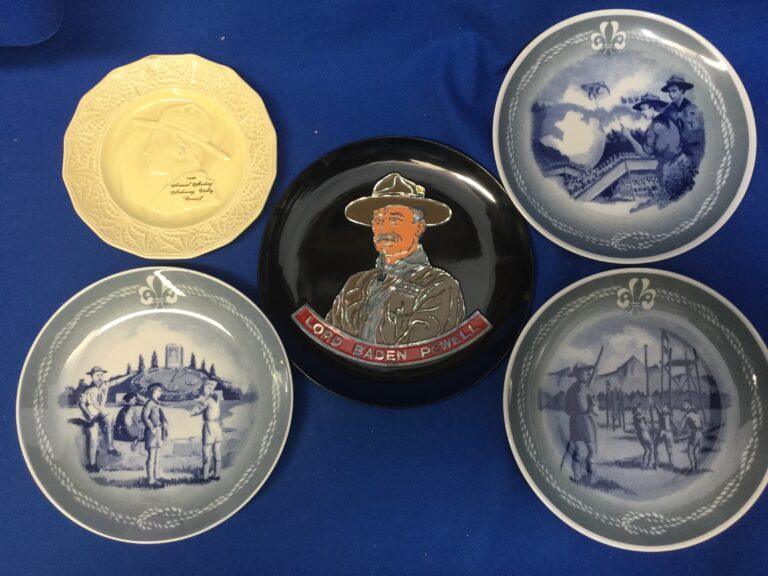 Boy Scout Plates