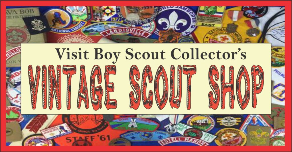 Boy Scout Collector Vintage Scout Store