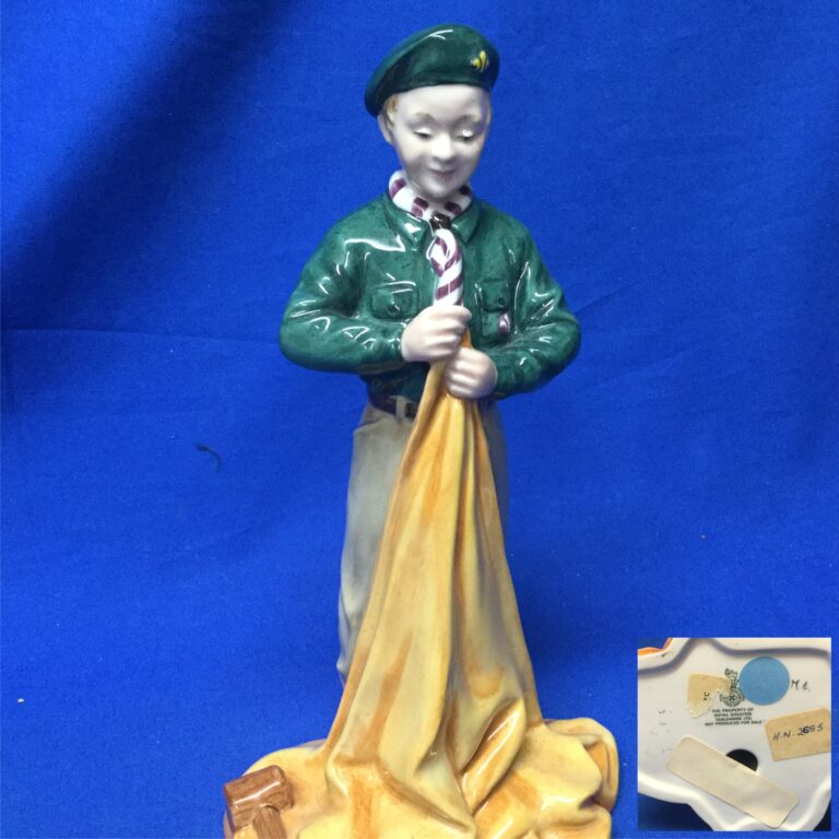 Boy Scout Rare Prototype From Royal Doulton Museum