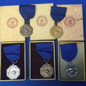 Boy Scout Contest Medals